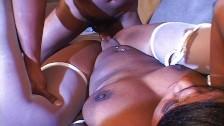 Verruchte Ebony will Sperma schlucken